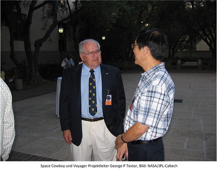 Voyager Projektleiter George P Textor