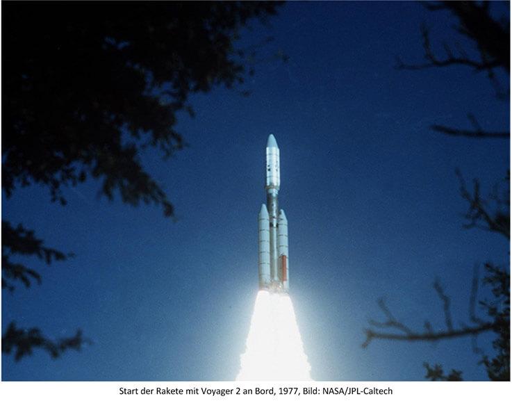 Voyager Raketenstart