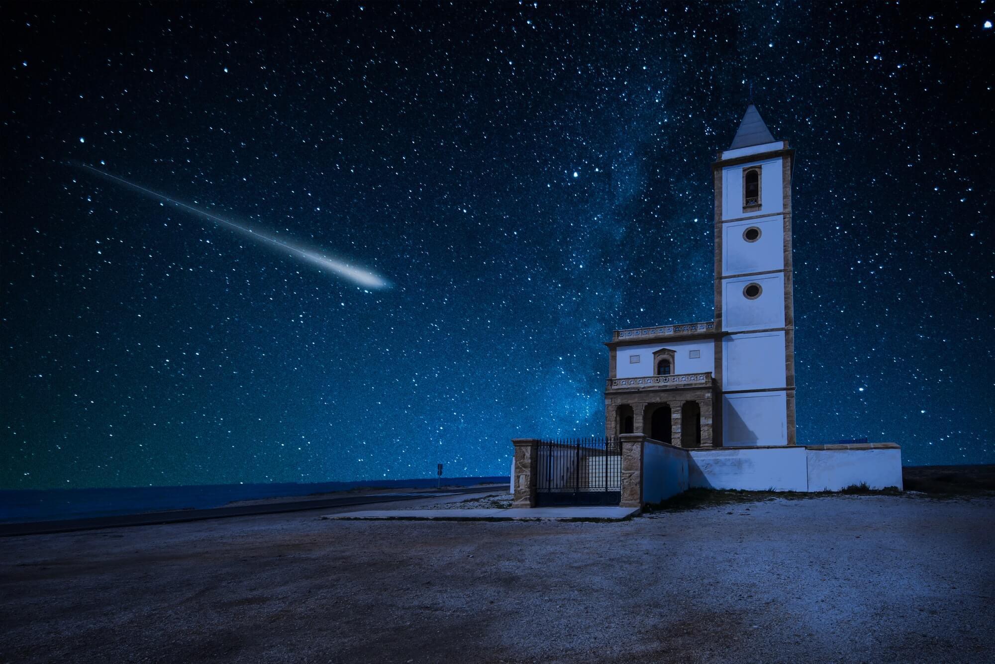 """Der Komet, der an der Sonne kratze – Teil 2 """"Der Weihnachtskomet"""""""