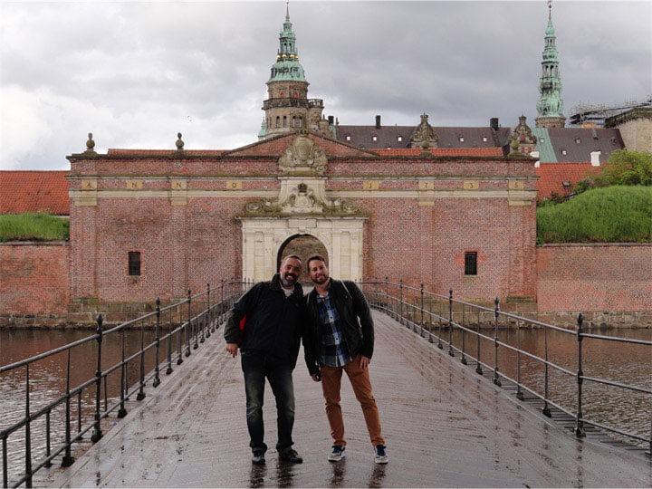 Tor zum Schloss Kronborg