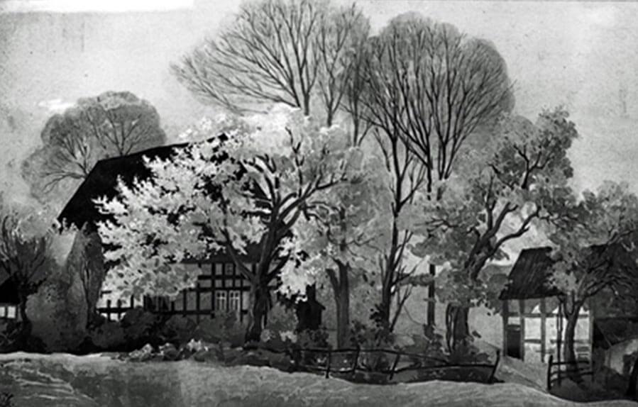 Elternhaus von August und Johann Willer in Rote Kuhle