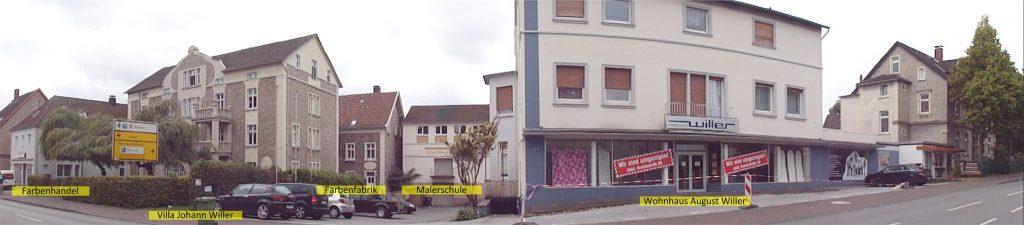 Panoramafoto vom ehemaligen Unternehmensgelände Willer