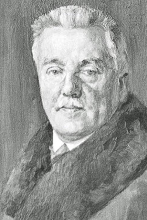 Portrait des Detmolder Malers August Willer (vermutlich gemalt von Bruno Wittenstein)