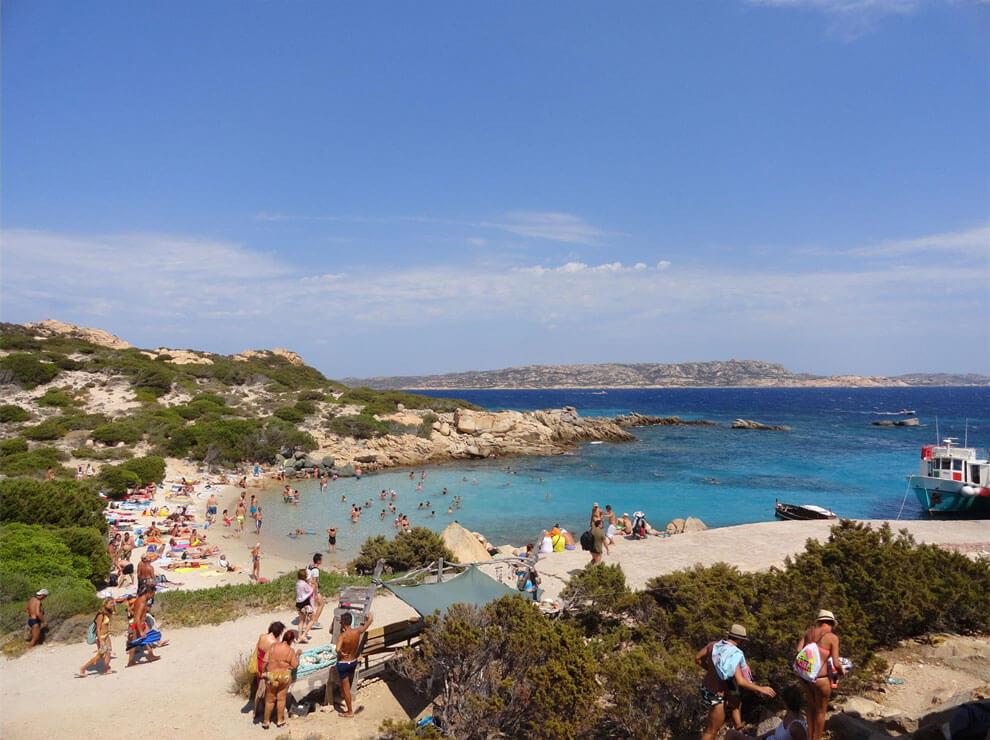 Bucht der Isola di Spargi