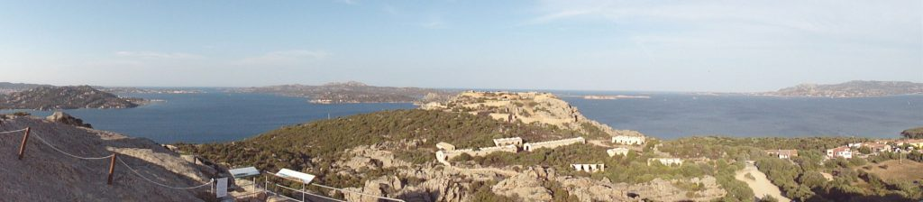 Panorama die Inselgruppe La Maddalena