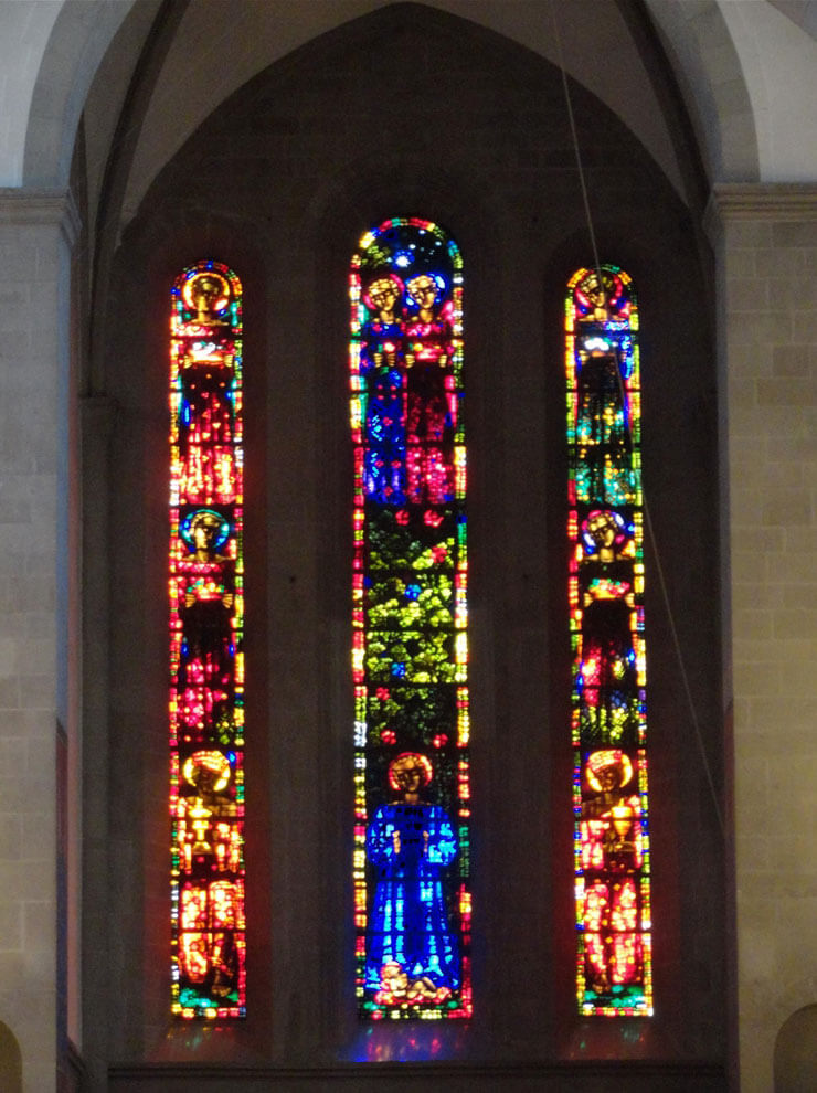 Giacometti-Fenster im Großmünster