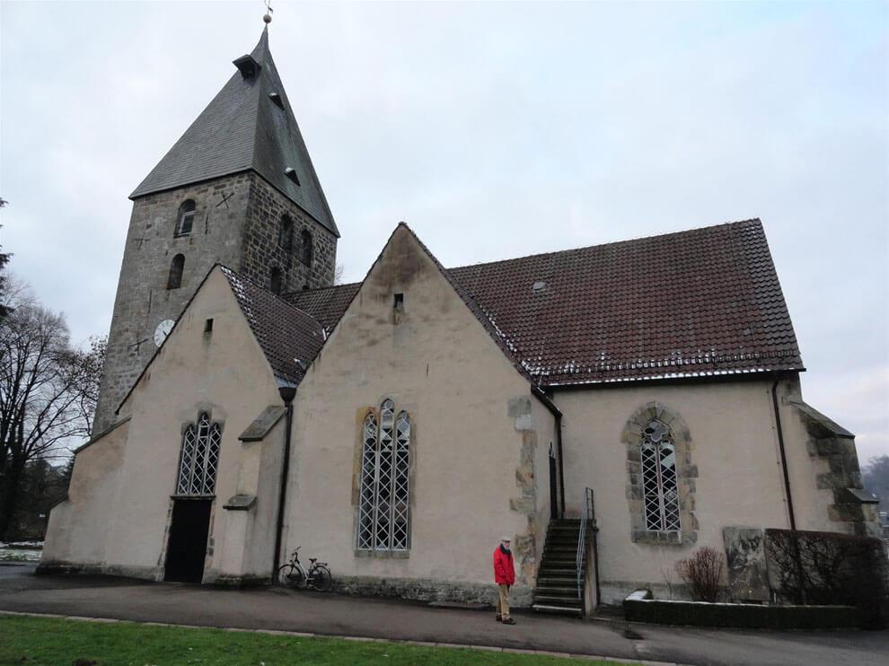 Historische Kirche in Heiligenkirchen bei Detmold