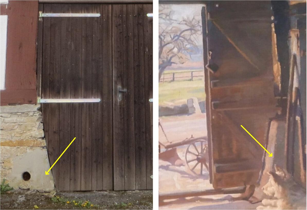 Ausblick aus einer Bauerndiele – Auf den Spuren des Heimatmalers Karl Henckel