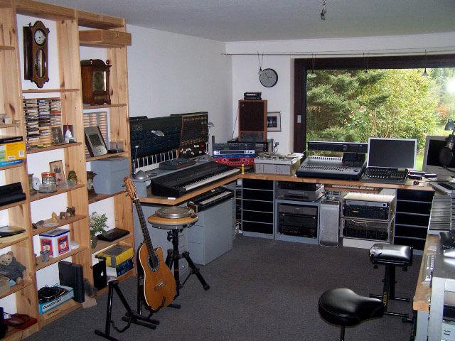 Musikstudio von Dennis Hart