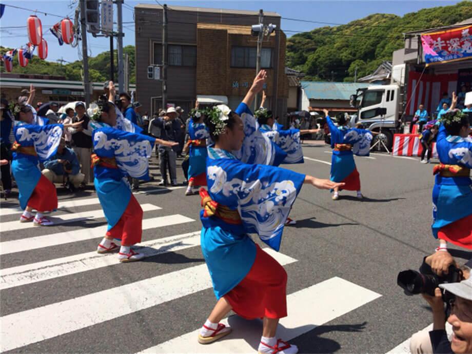 Vorbilder in Japan (Ushibuka Haiya Fest)