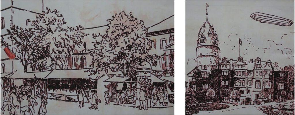Zeichnungen von Bruno Wittenstein, Lippische Fibel 1916