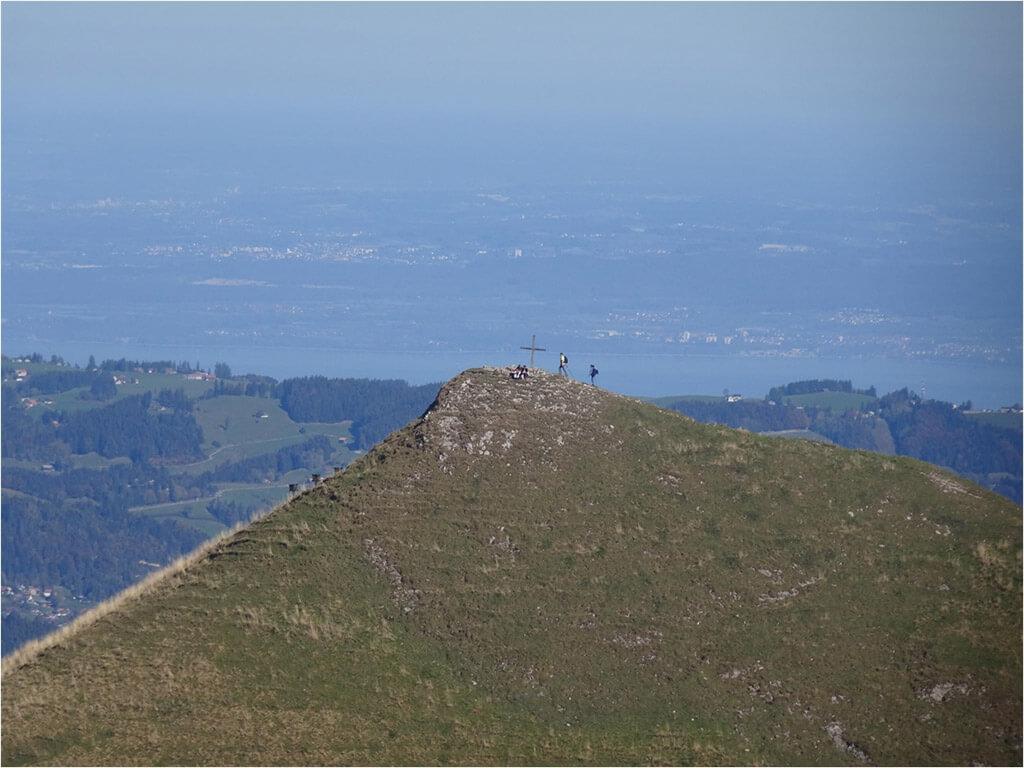 Gipfel des Kamor mit Bodensee