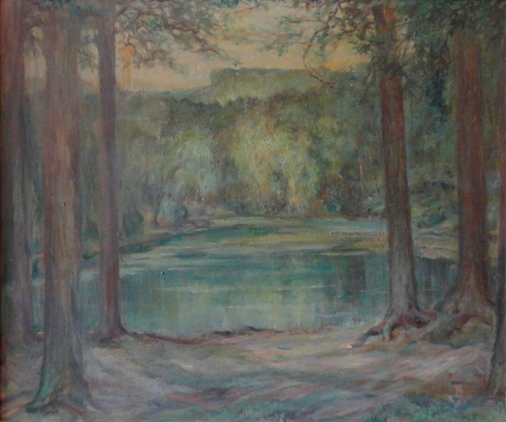 Am Donoper Teich (etwa 1906)