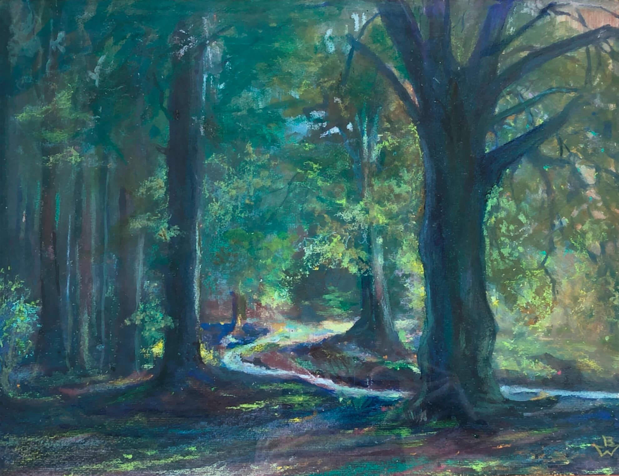 Schützt den Wunderwald! – Nach über 100 Jahren hat der Aufruf des Kunstmalers Bruno Wittenstein an Aktualität nicht verloren