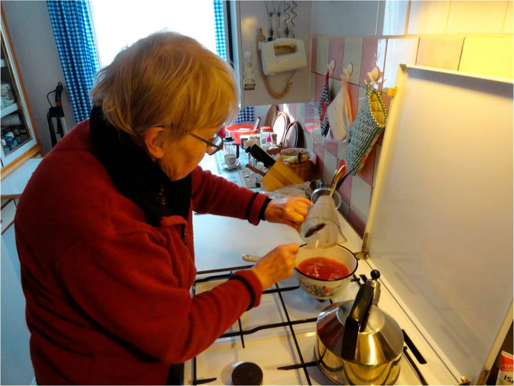 Zubereitung des Tortengusses