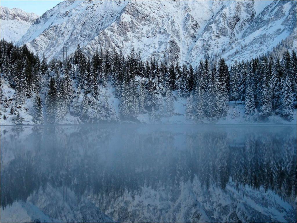 Winterzauber am Golzernsee