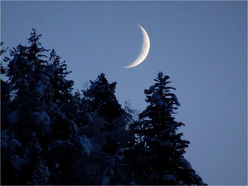 Mond geht auf im Maderanertal