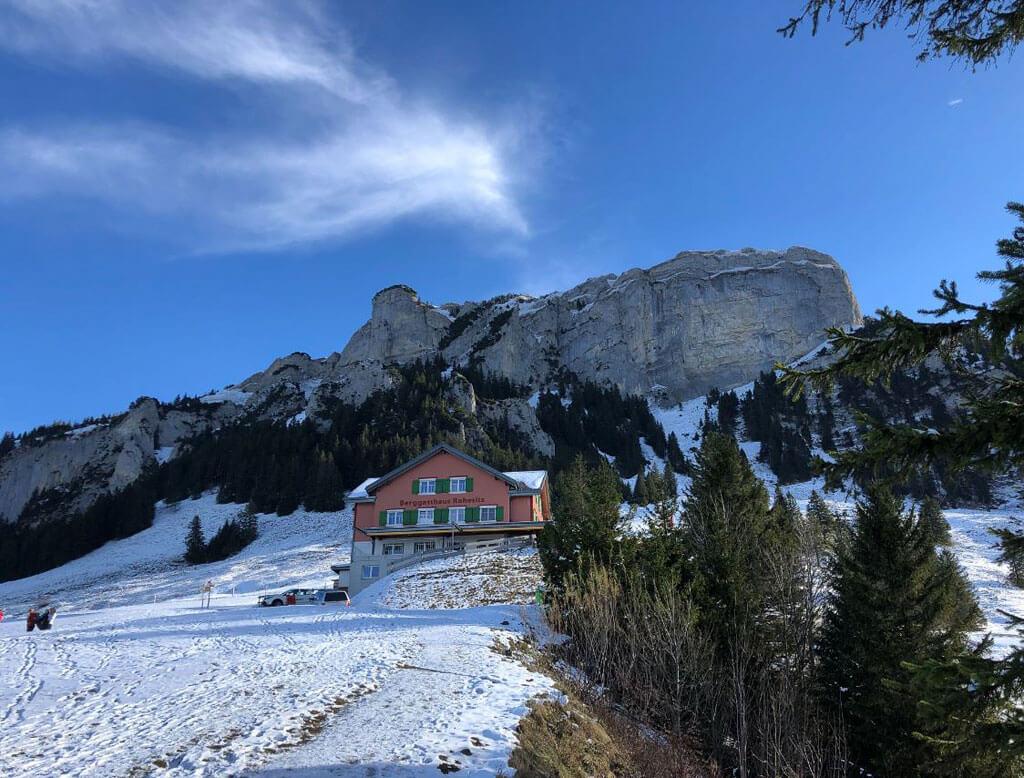 Berggasthaus Ruhesitz lädt ein zum Verweilen